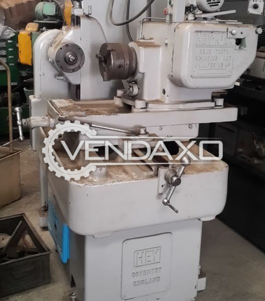 HEY 20 Gear Tooth Rounding Machine - Diameter : 450 mm
