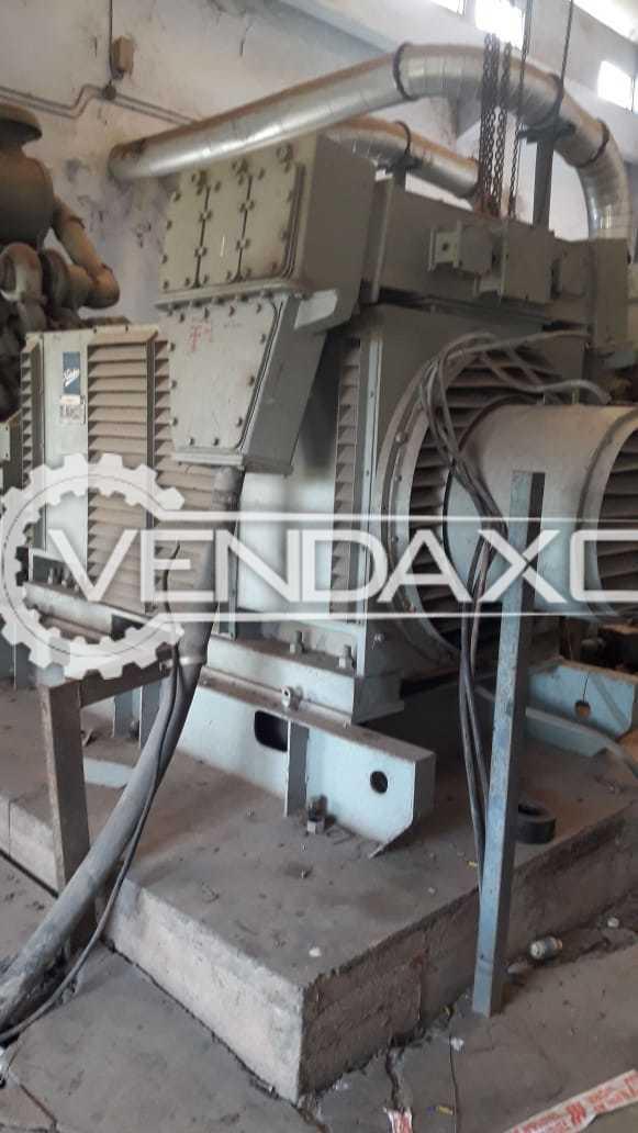 Cummins & Kirloskar KTA 3067G Diesel Generator - 1 MW, 1991 Model