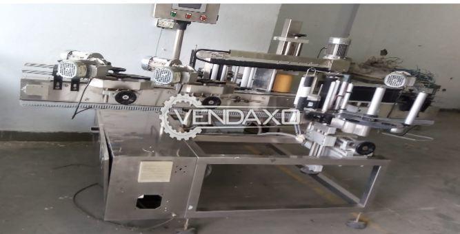 M/S Skanem Interlabels ALM-1230/11/14-15 Automatic Labelling Machine - 45 pcs per minute