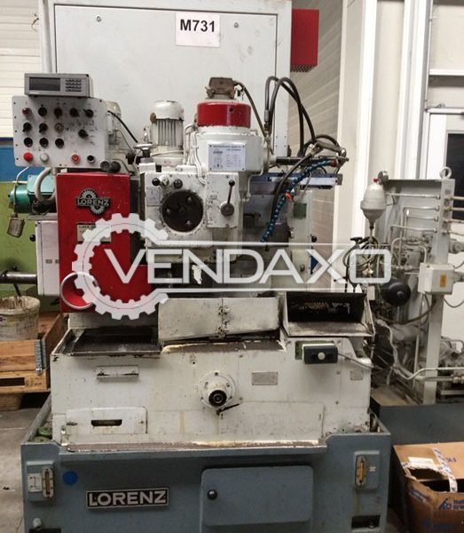 Lorenz SN 4 Gear Shaper Machine - Max.Diameter : 180 mm