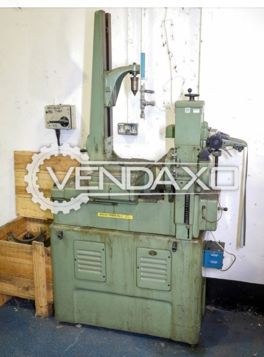 Maag PH 60 Gear Tester Machine - Max. Gear Diameter : 320 mm