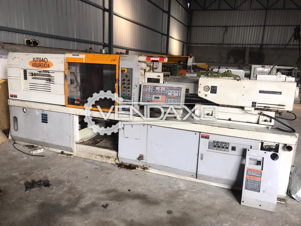 Kawaguchi KM-14002 Injection Moulding Machine - 140 Ton