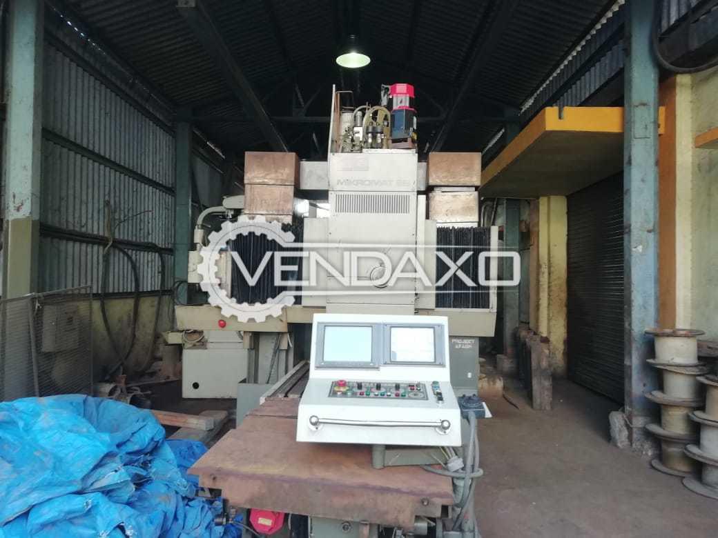 WMW Heckert 9B Jig Boring Machine - Length - 4 Meter