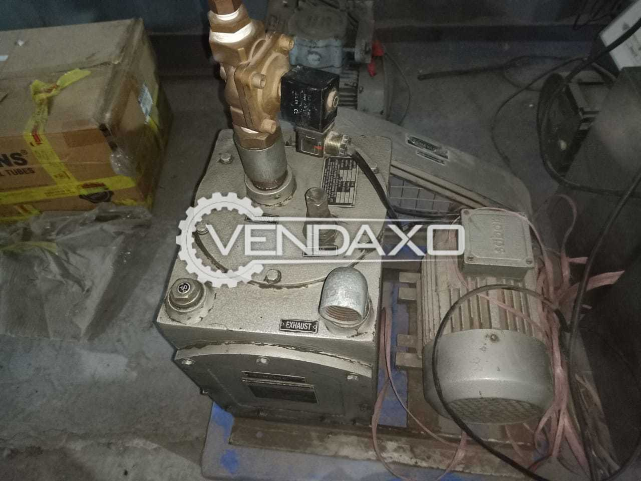 Acmevec 2SP500 Oil Vacuum Pump - 500 LPM