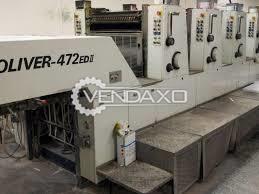 Sakurai Oliver 472 ED Offset Printing Machine - 72 x 52 cm, 4 Color