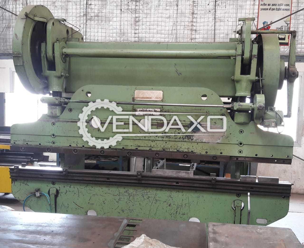 Godrej Make Press Brake Machine - Capacity : 3000mm x 80 Tons