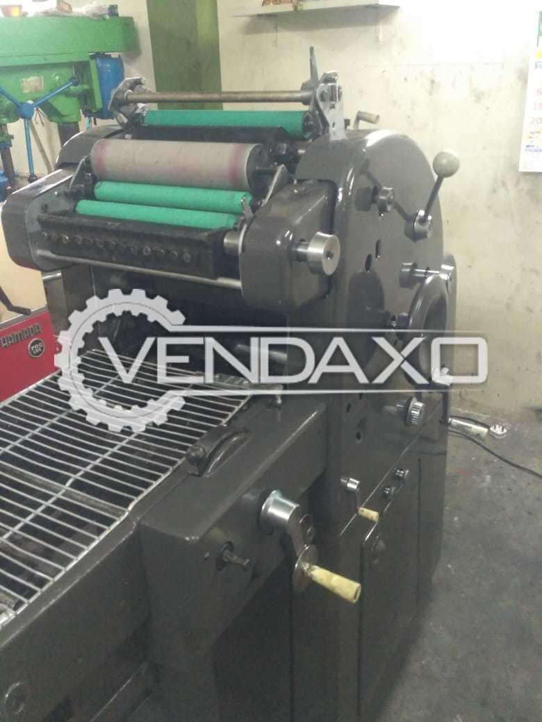 Abdick 360 CD Mini Offset Printing Machine - 11 x 17 Inch, Single Color