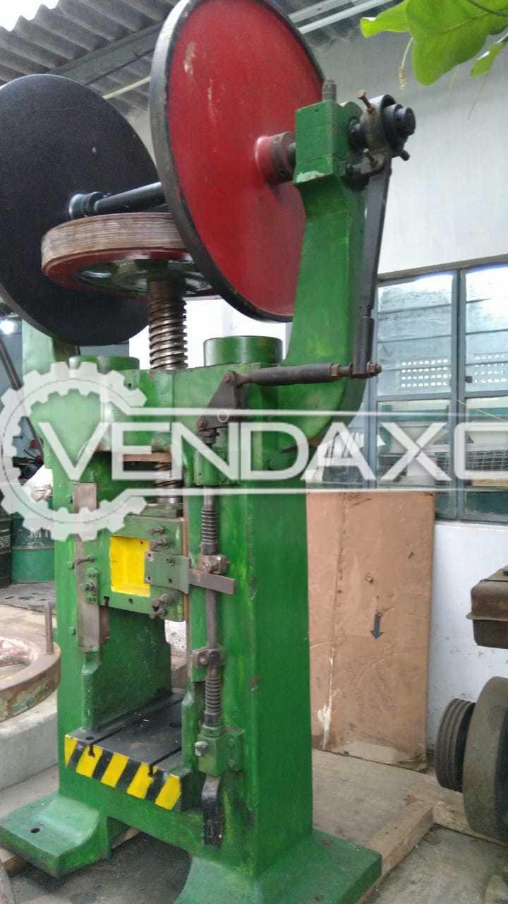 Indian Make Screw Press Machine - 100 Ton