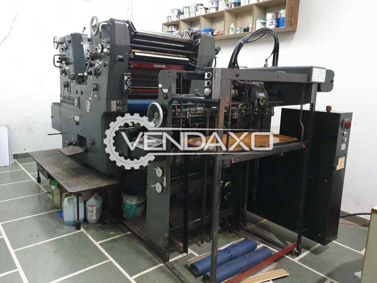 Heidelberg SORKZ Offset Printing Machine - 19 x 26 Inch, 2 Color