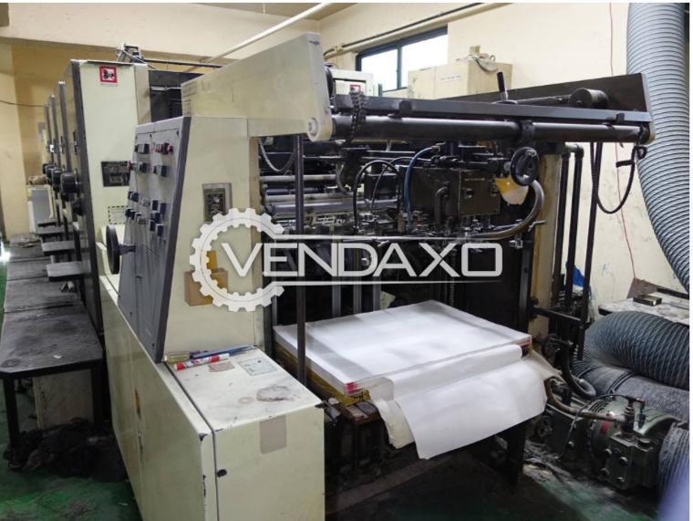 Mitsubishi Daiya 2F-4 Offset Printing Machine - 22 x 32 Inch, 4 Color