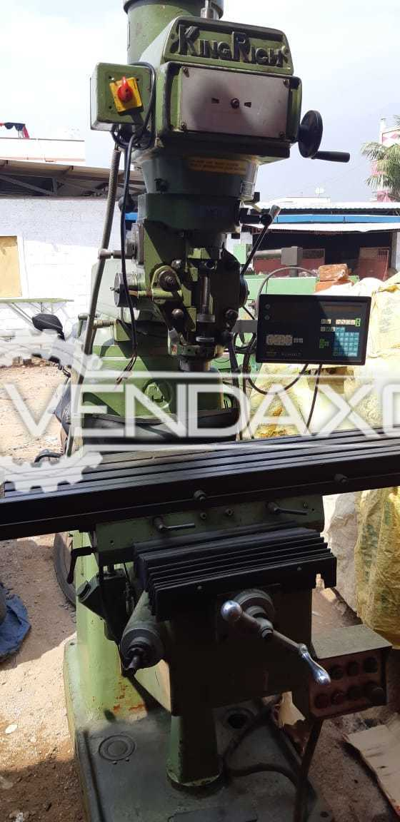 King Rich Make Milling Machine - Table Size : 1250 x 250 mm