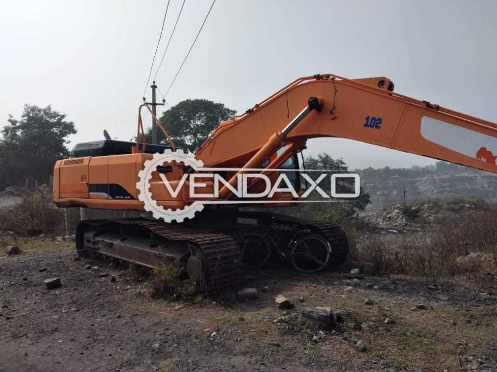 Doosan S340LC-7 Excavator - Engine Power - 280 HP, 2012 Model