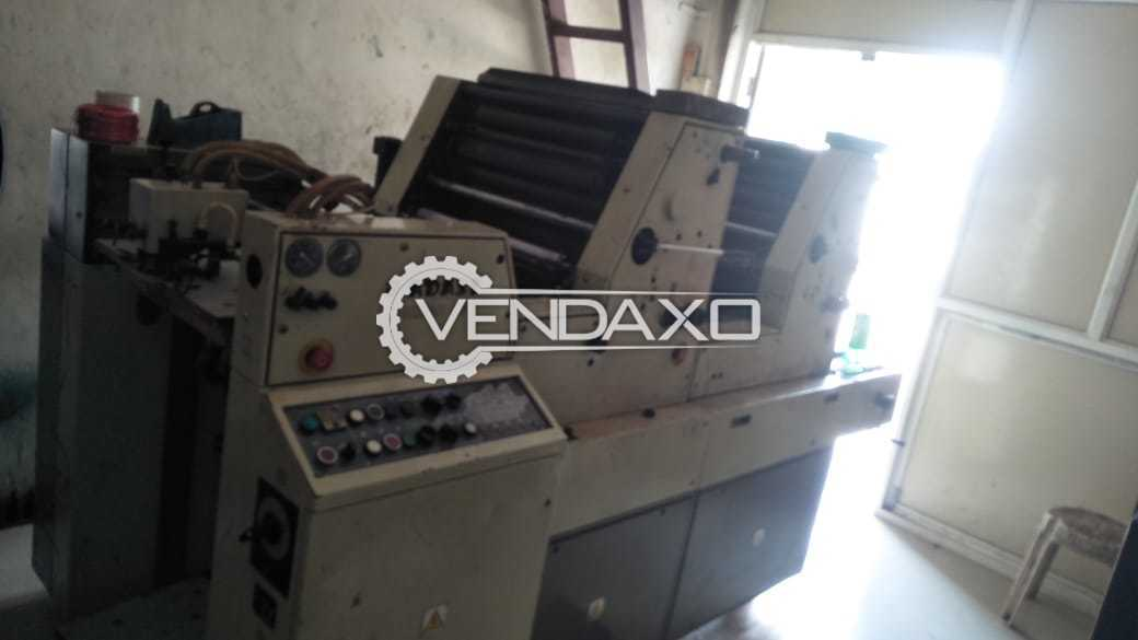 Adast Dominant 725 Offset Printing Machine - 19 x 26 Inch, 2 Color