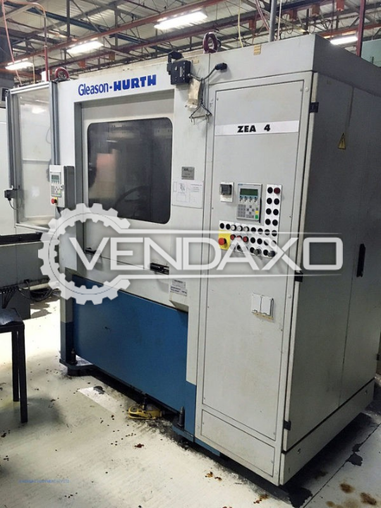 Gleason Hurth ZEA 4 Tooth Chamfering And Deburring Machine - Max Outside Diameter : 250 mm