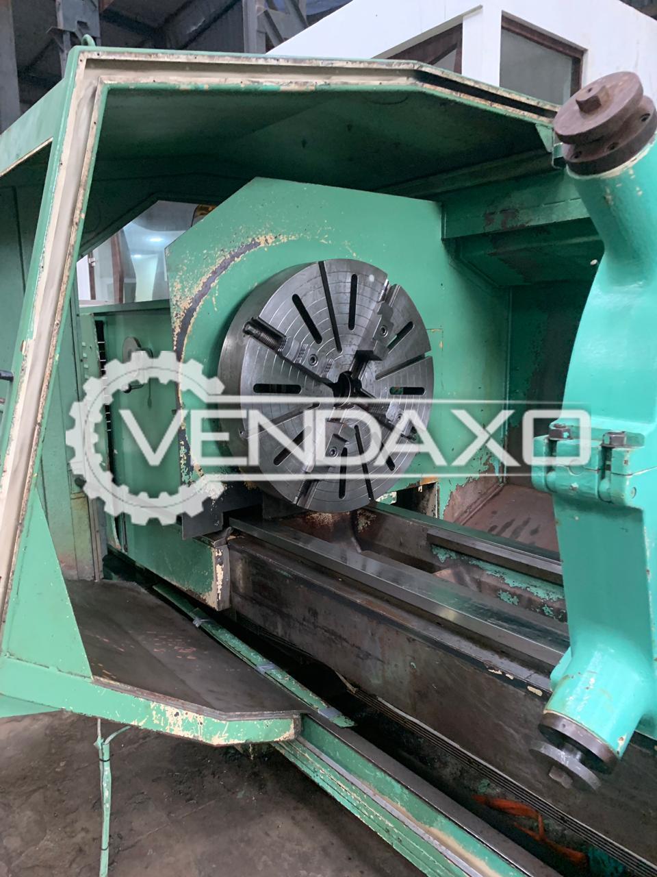 Weipert WNC 1003 Lathe Machine - Admit Between Centers : 4500 mm