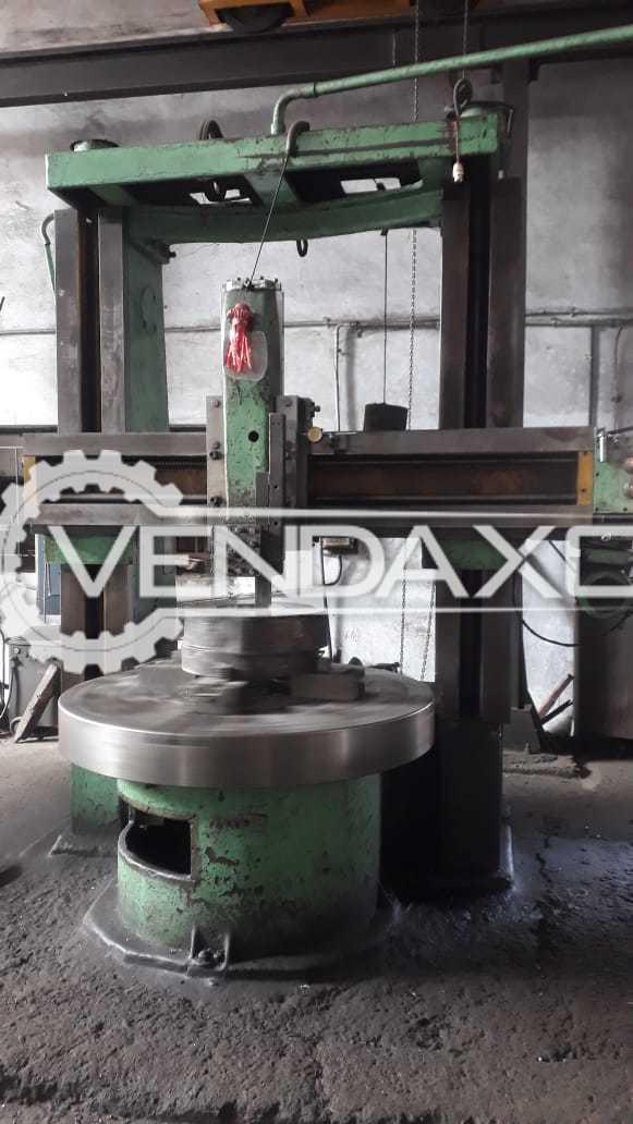 Saundh Make Vertical Turret Lathe Machine - VTL - Swing Diameter : 1500 mm
