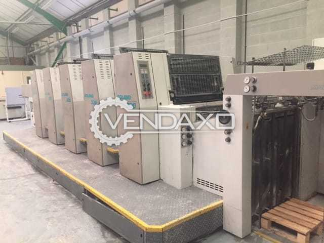 Man Roland R305P Offset Printing Machine - 20 x 28 Inch, 5 Color