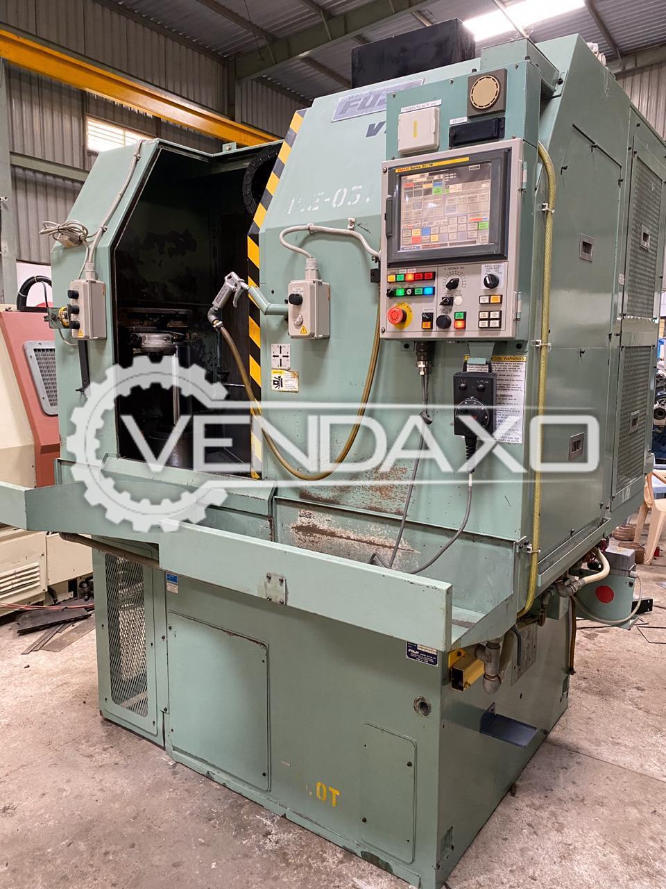 Fuji VN-40T CNC Vertical Turning Lathe Machine - Max Cutting Diameter : 575 mm
