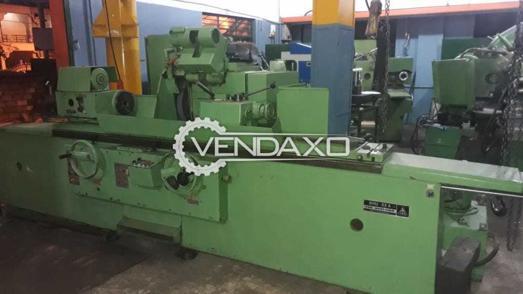 TOS BHU 32A Cylindrical Grinding Machine - Center Height : 160 mm