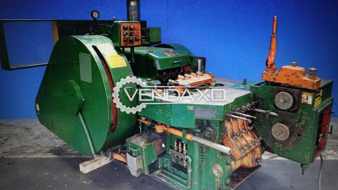 National Make Imported Nut Former Machine - Capacity : 10 mm