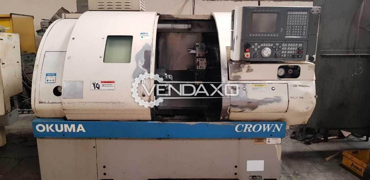 "Okuma Crown CNC Turning Center - Max Turning Diameter : 10.63"""
