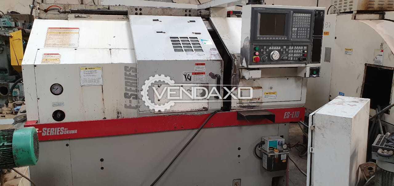 Okuma E-Series ES-L10 CNC Turning Center - Max Turning Diameter : 12.2″