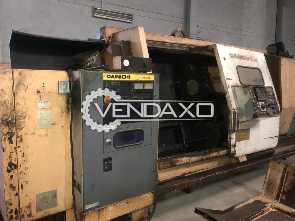 Dainichi B 70 CNC Lathe Machine - Chuck Diameter : 600 mm