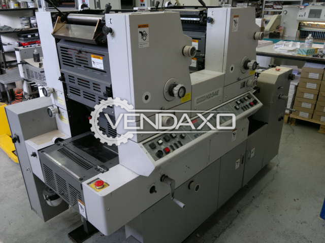 Hamada 234K Offset Printing Machine - 34 x 45 cm, 2 Color