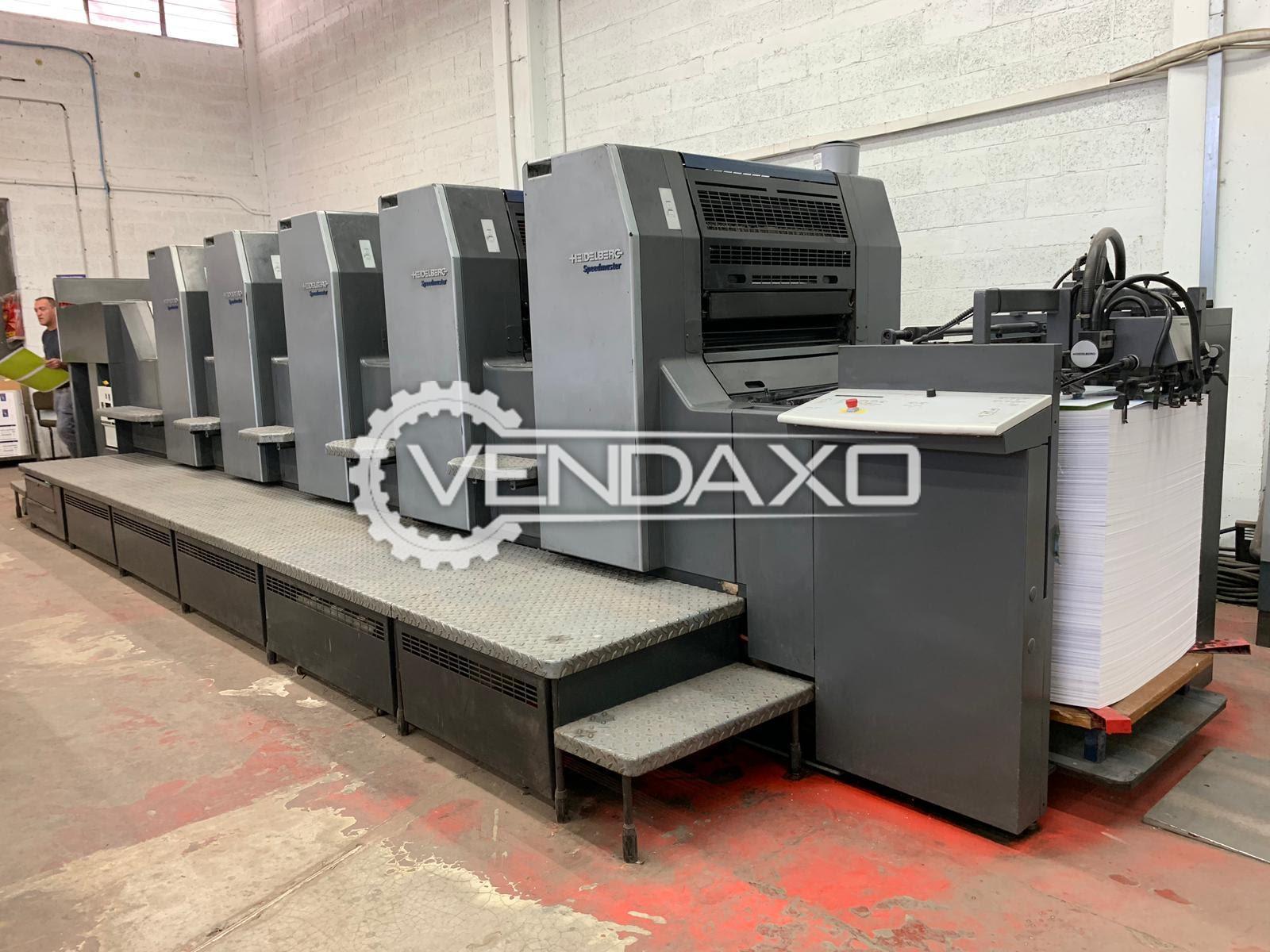 Heidelberg SM 74-5H Offset Printing Machine - 52 x 74 CM, 5 Color