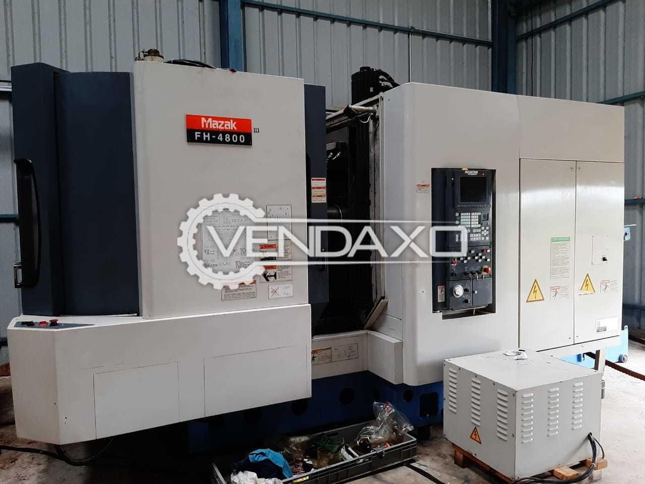 MAZAK FH4800 CNC Horizontal Machining Center HMC - Table Size - 400 x 400 mm