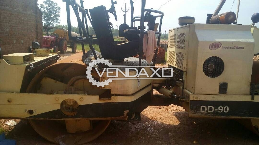 VOLVO DD 90 Vibratory Asphalt Compactor - Engine Power - 110 HP