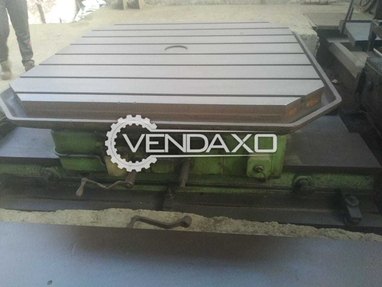 Available For Sale Skoda Make Rotary Table - Model E 20