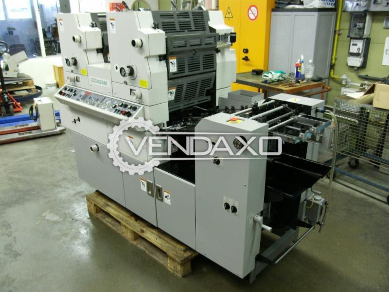 Hamada H234M Offset Printing Machine - 340 x 450 mm, 2 Color