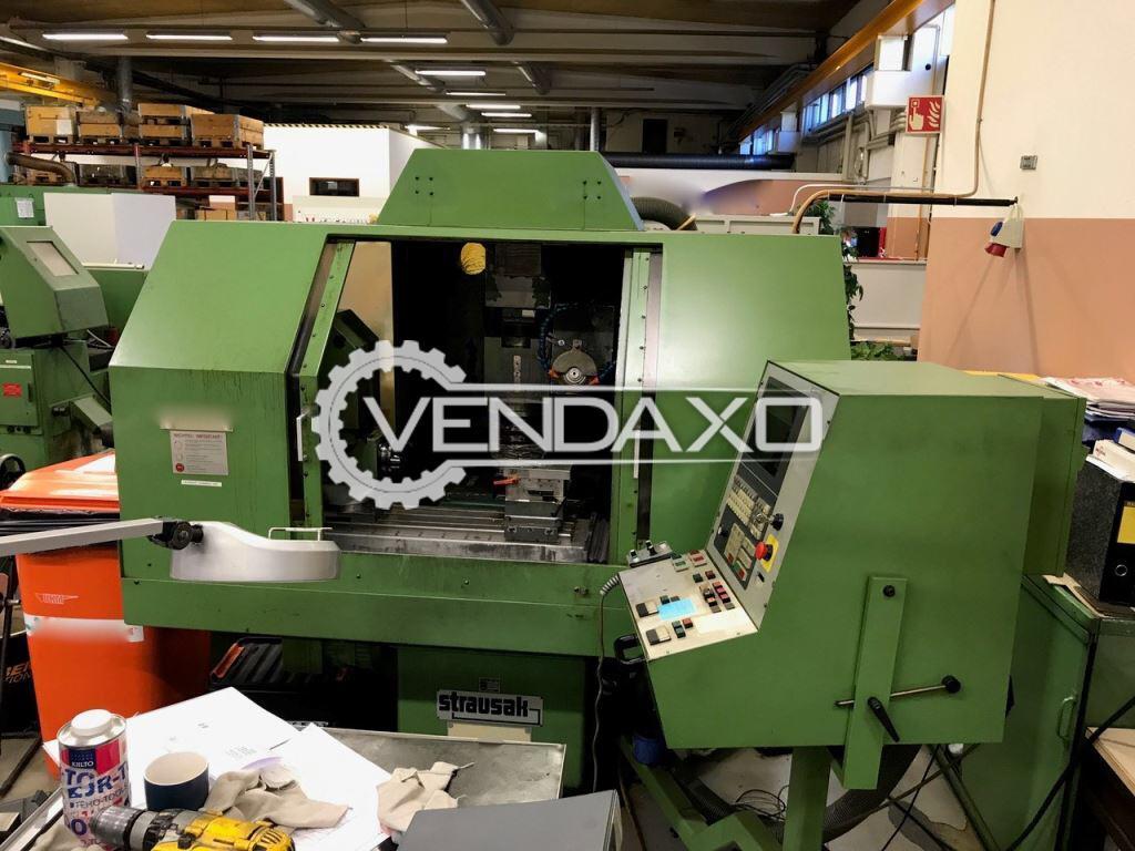 Strausak Make CNC 5th Axis Tool Grinder Machine - Model 57W/CNC-4G