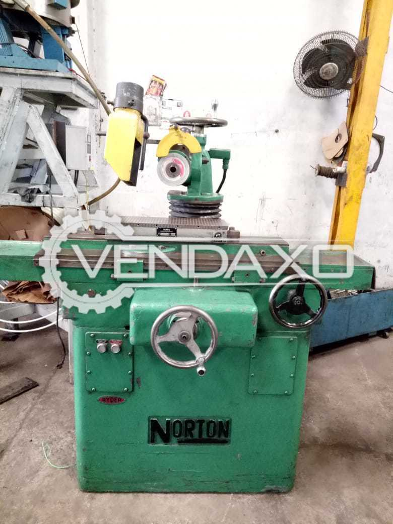 Norton Make Surface Grinding Machine - Table Size : 910 x 150 mm