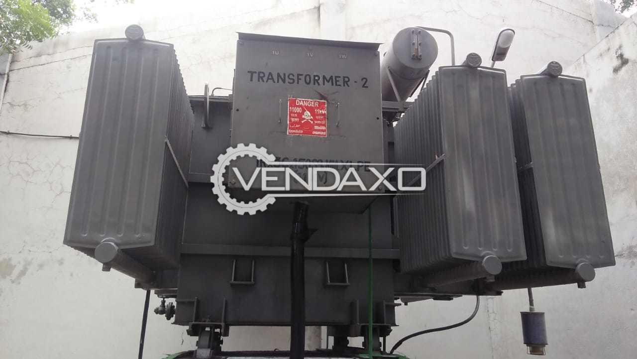 Kirloskar Transformer - 2000 Kva, 2004 Model