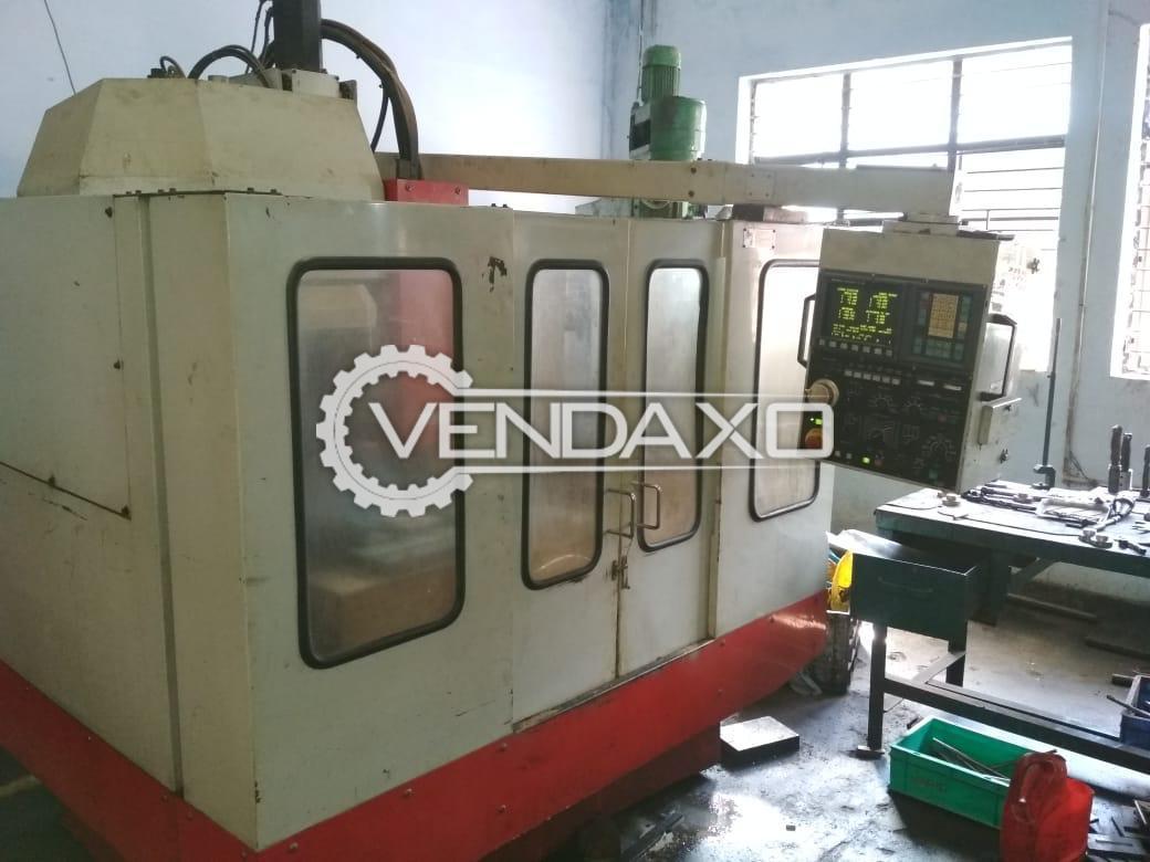 Excel Colt-510 CNC Vertical Machining Center - VMC - Table Size : 680 x 430 mm