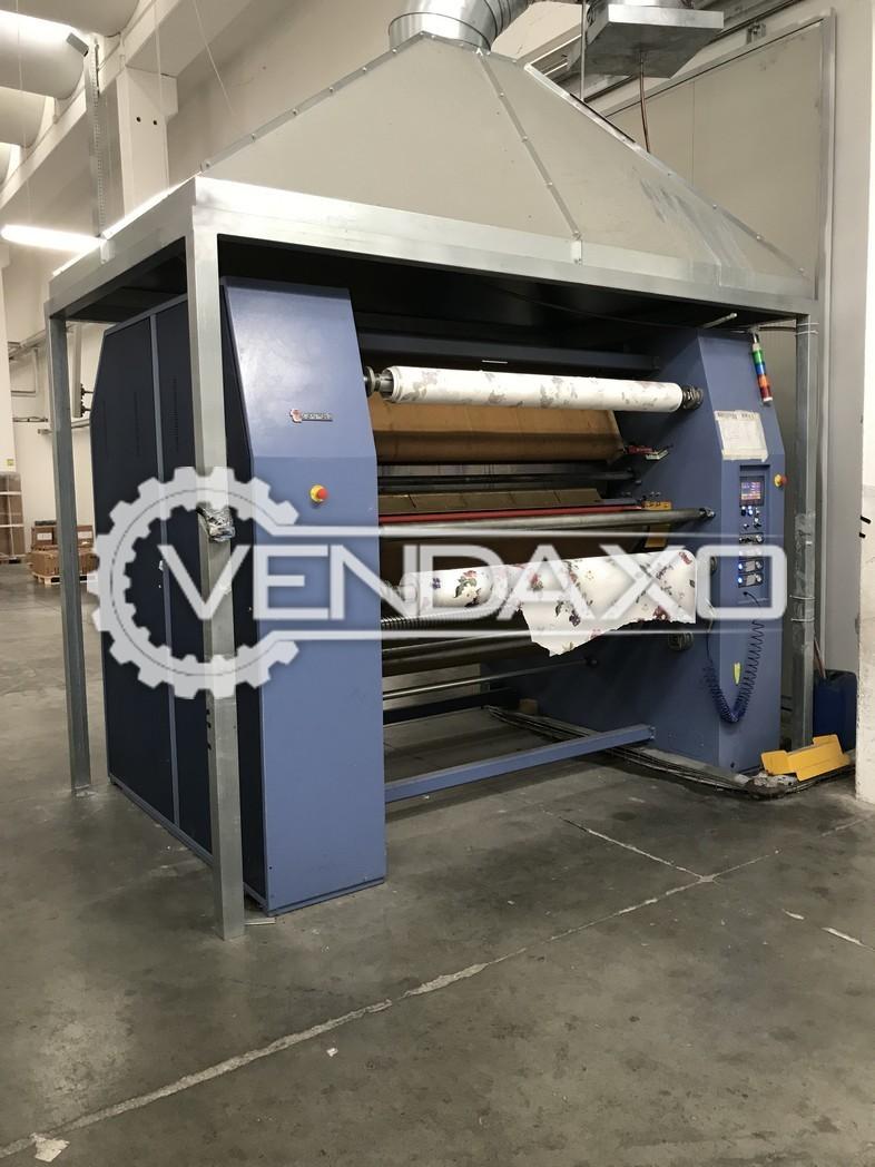 Transmatic Srl GFO 1067 Calender Machine - Width 1600 mm