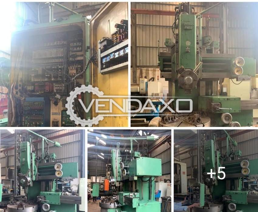 Stanko Make Vertical Turret Lathe Machine - VTL - Table Size : 1120 mm