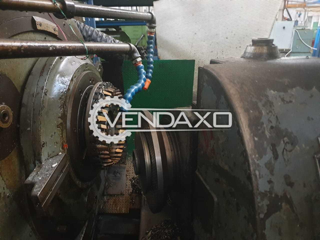 Gleason 16 Spiral Bevel Gear Generator - Max Gear Diameter : 450 mm