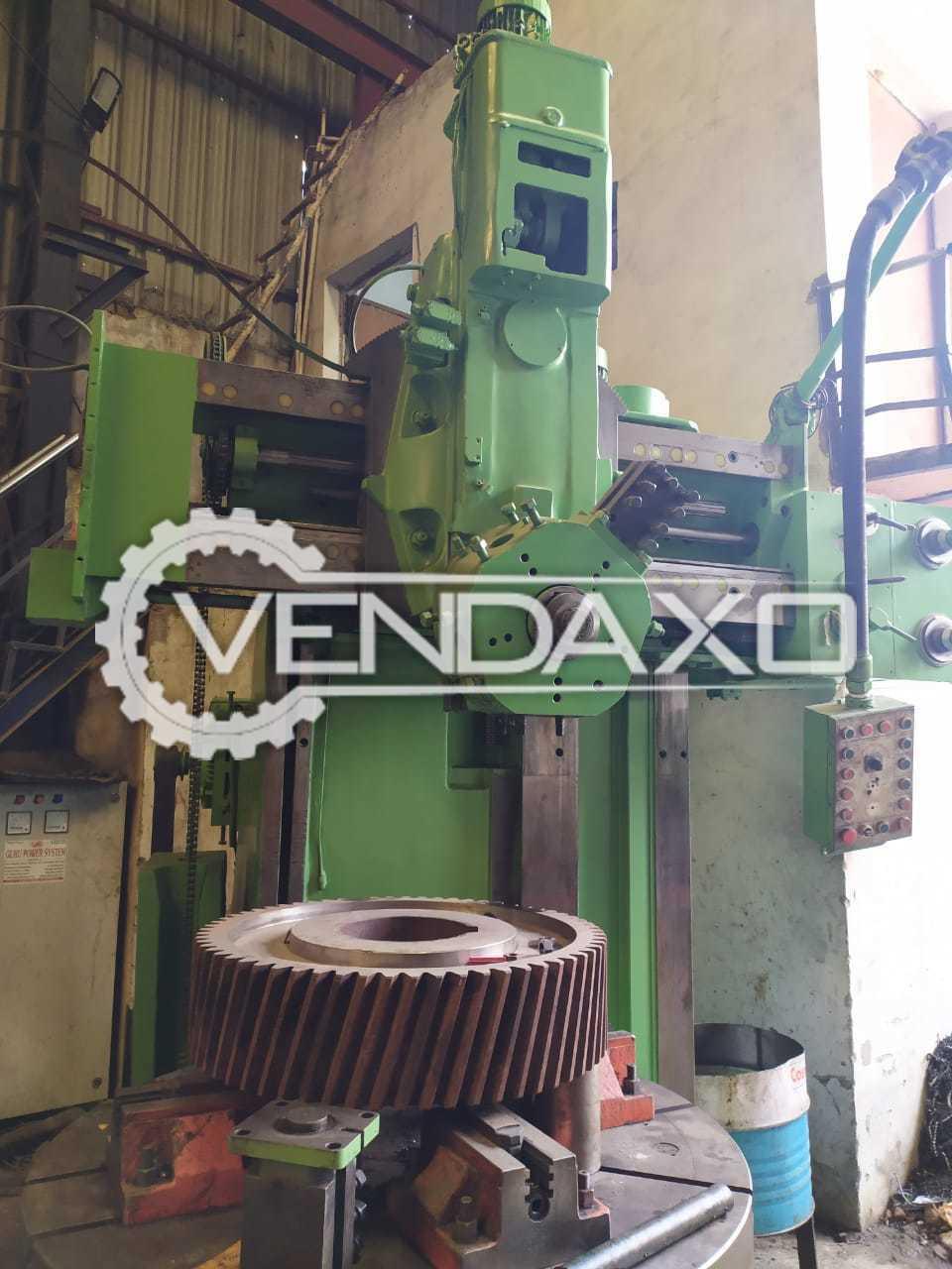 Cooper Make Vertical Turret Lathe Machine - VTL - Chuck Size : 1400 mm