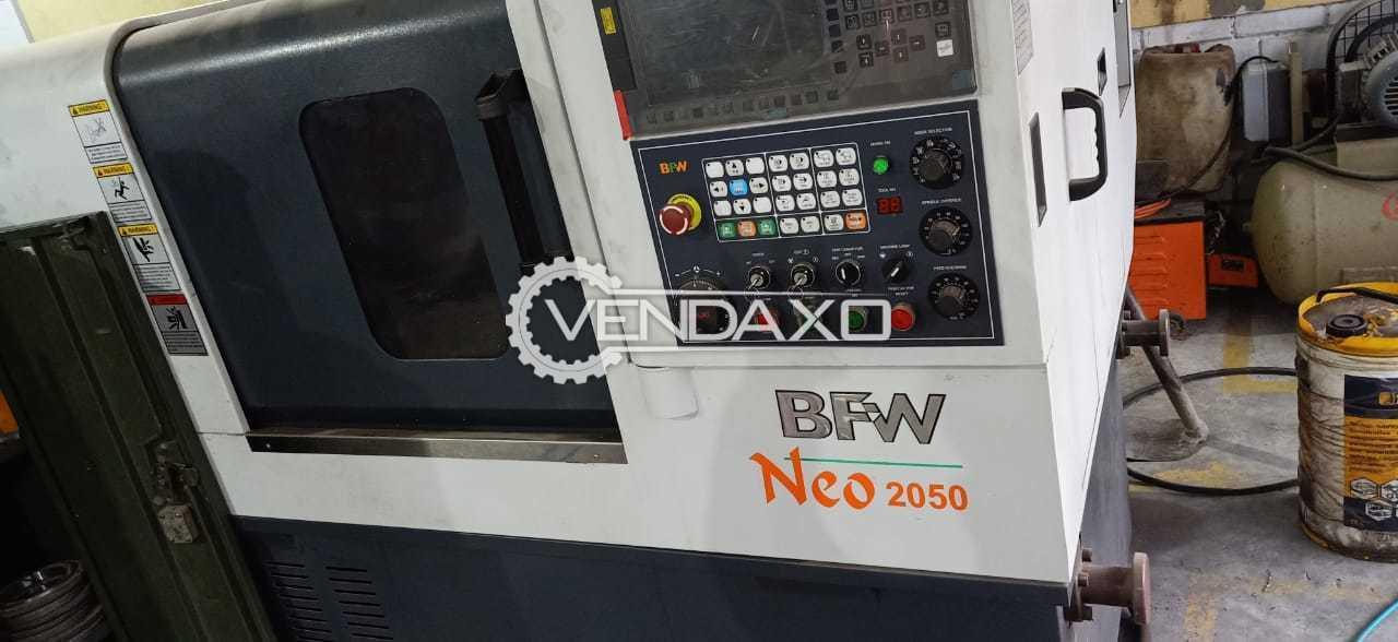 BFW Neo 2050 CNC Vertical Machining Center - VMC - Chuck Diameter : 200 mm