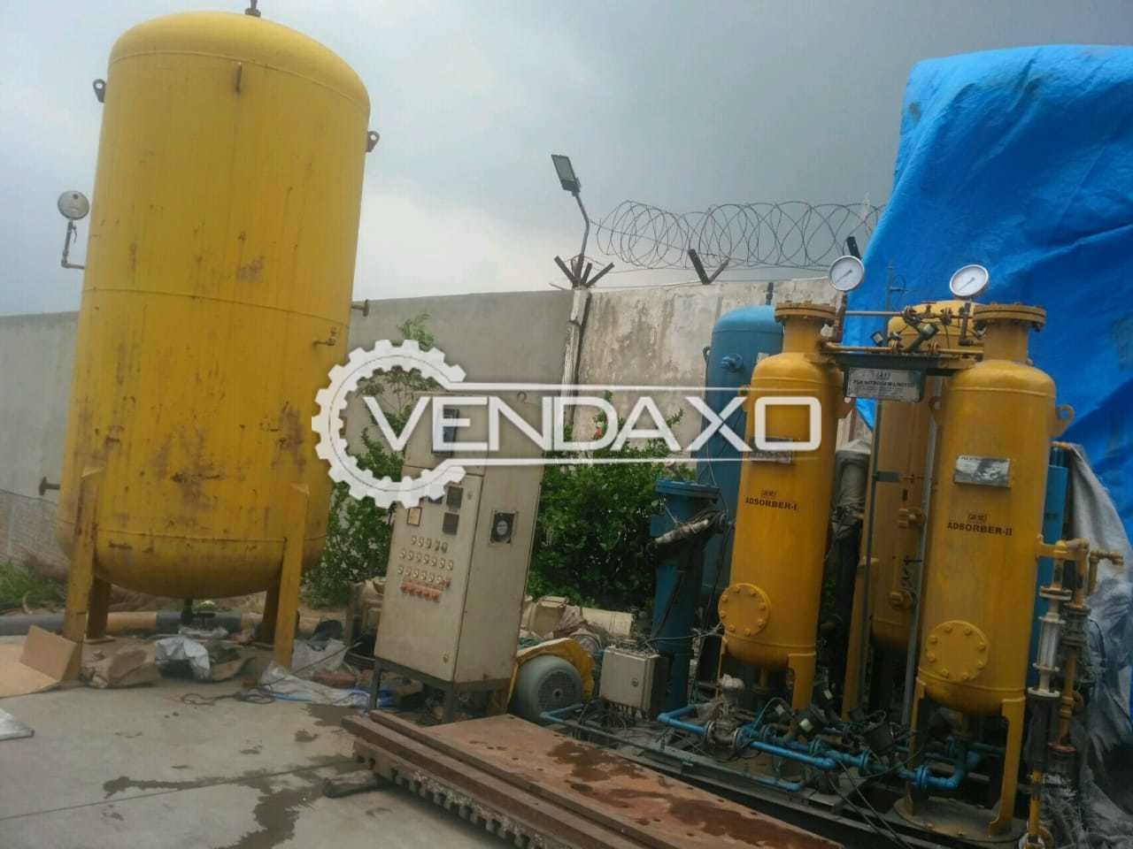 Available For Sale Used PSA Nitrogen Plant - 25 NM3/Hour