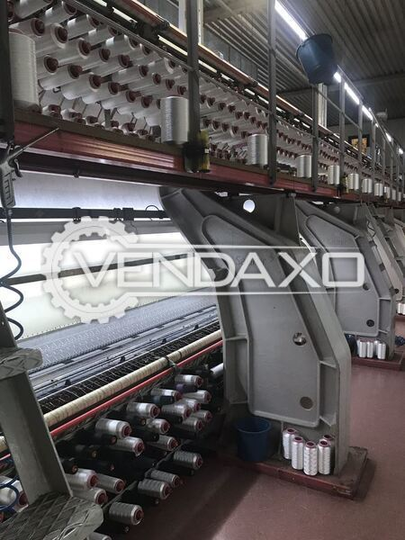 Saurer Unica Standard Double Embroidery Hoop Computerized Shuttle Embroidery Machine - 125 cm