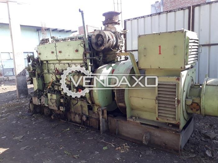 Fuji Electric Diesel Generator - 450 Kva