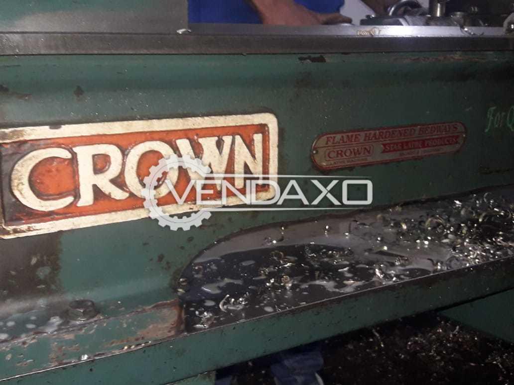 Crown Industries Make Lathe Machine - Length - 4.5 Feet