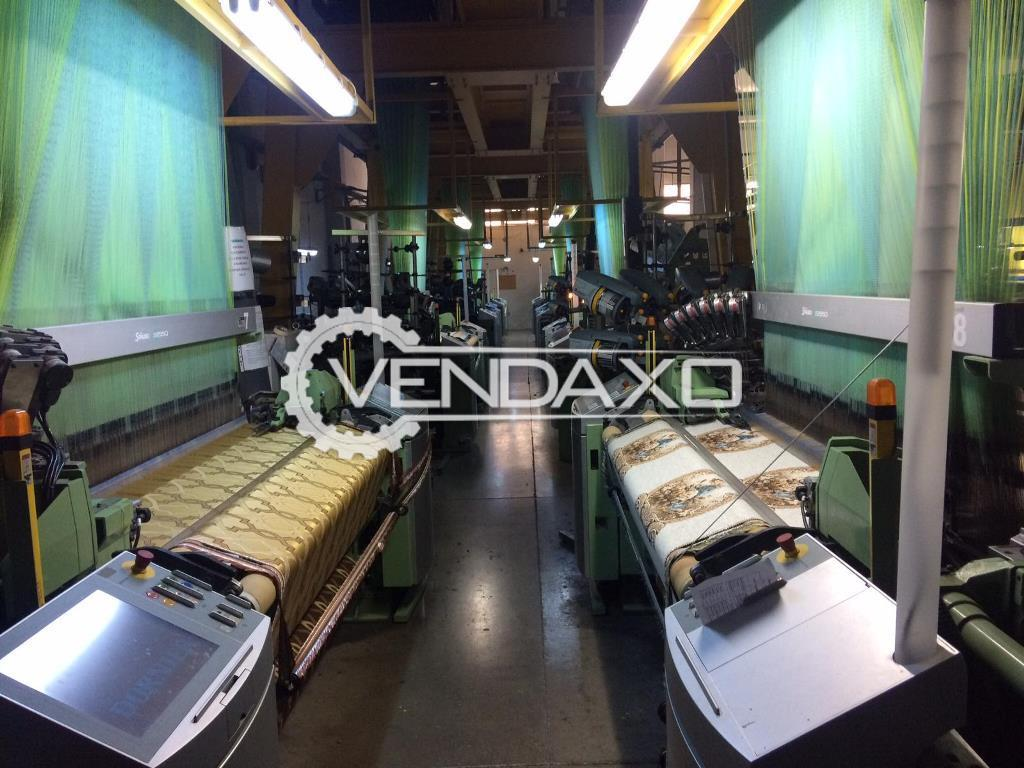 12 Set OF Dornier Jumbo/Double Jacquard Weaving Machine - Width - 1.90 Meter