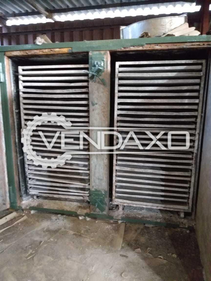 SS 316 Tray Dryer - Capacity : 192 Tray