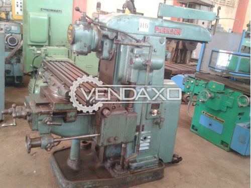 Parkson Universal Vertical And Horizontal Milling Machine - No.2