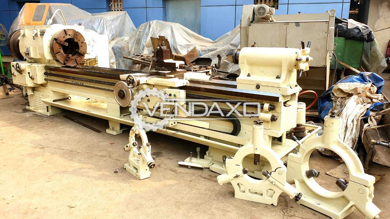 Lehman Oil Country Lathe Machine - Admit Between Centers : 3000 mm